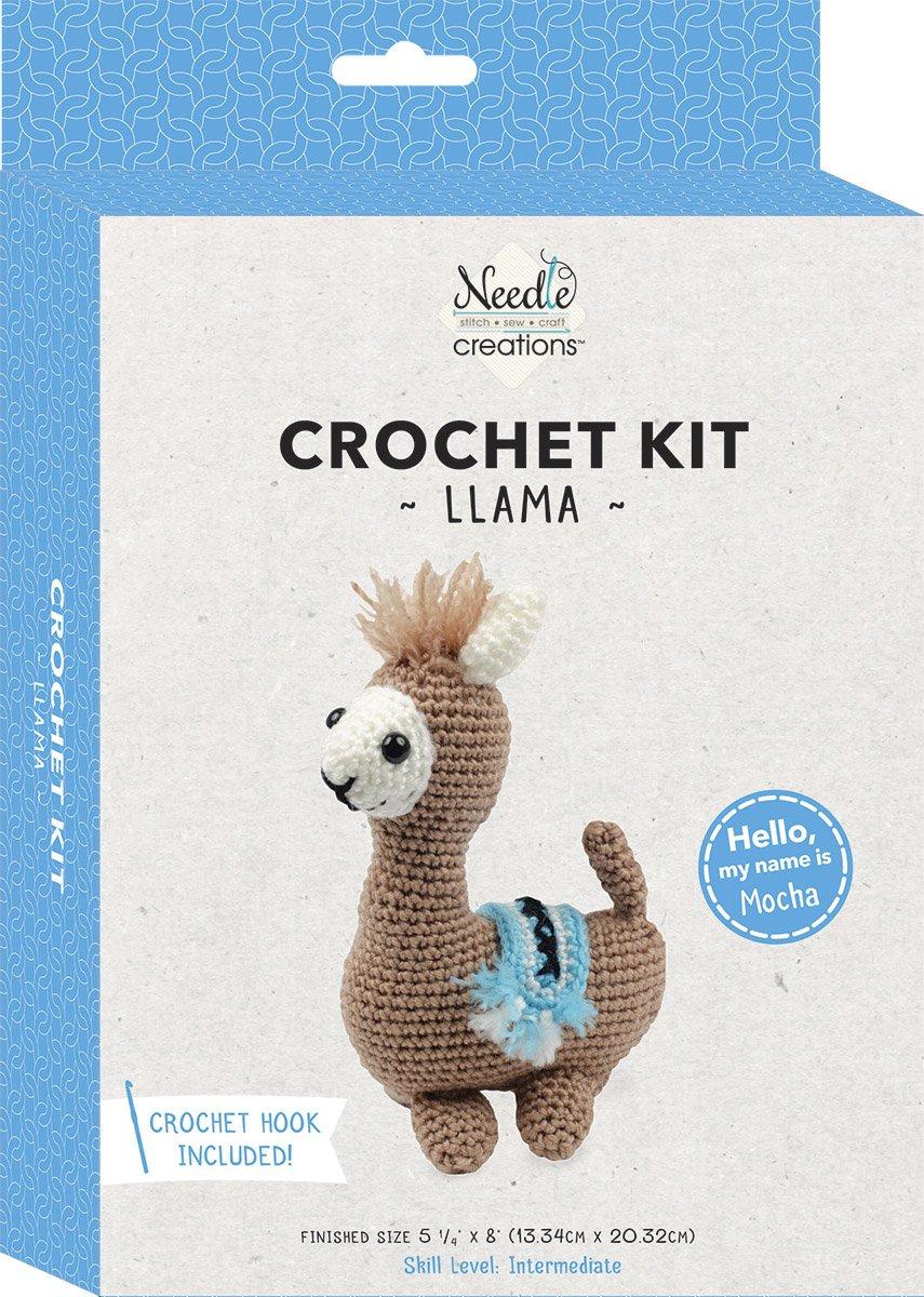 Needle Creations<br>3-D Crochet Kit Llama<br>SK-CRCHKT-LLAM