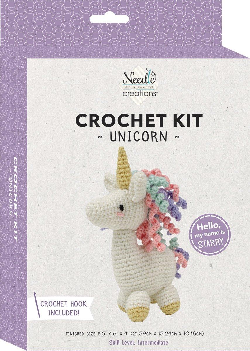 Needle Creations<br>3-D Crochet Kit Unicorn<br>SK-CRCHKT-UNCRN