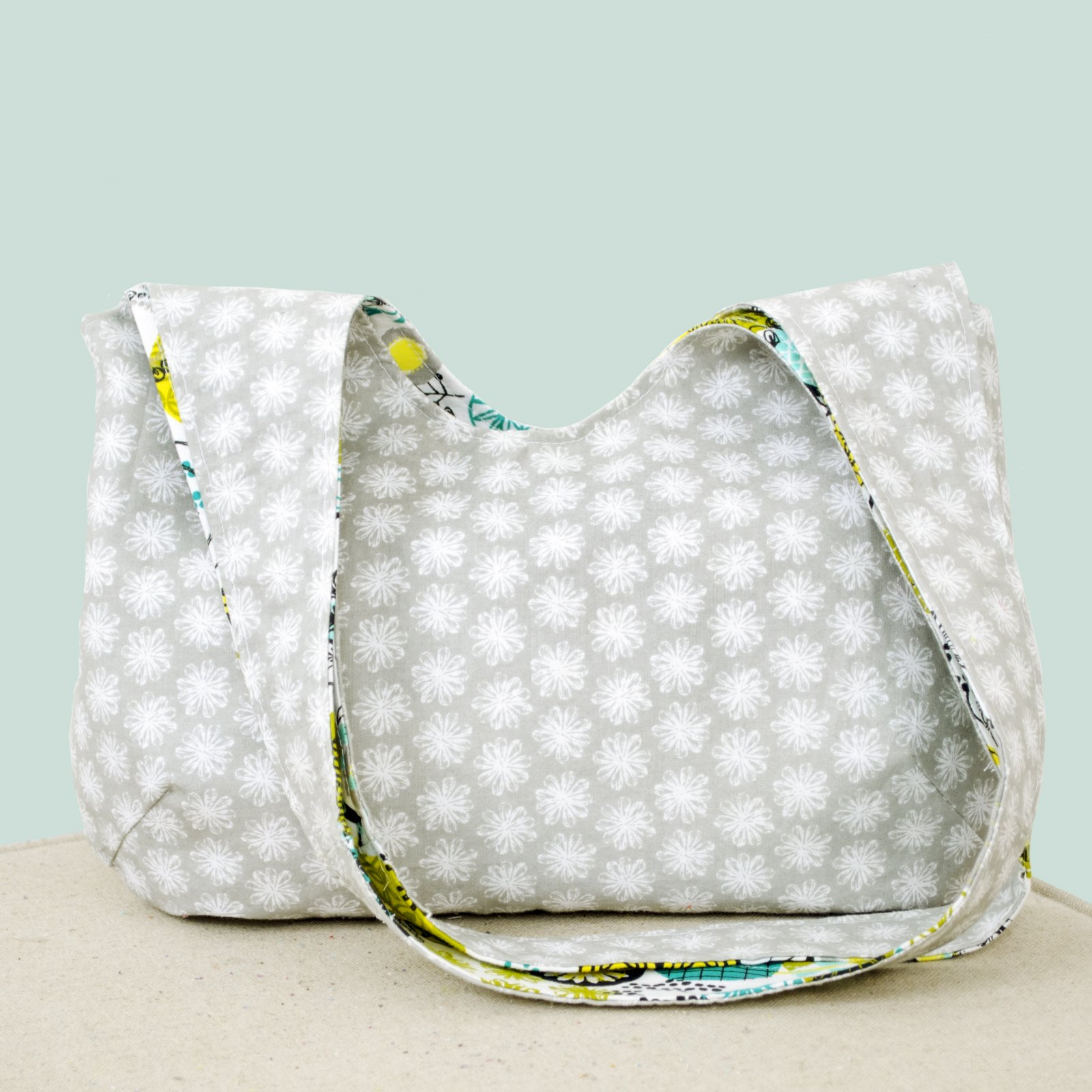 Reversible Slouch Bag