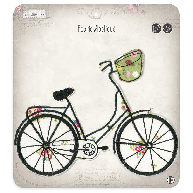 Sew Little Time Applique Bicycle
