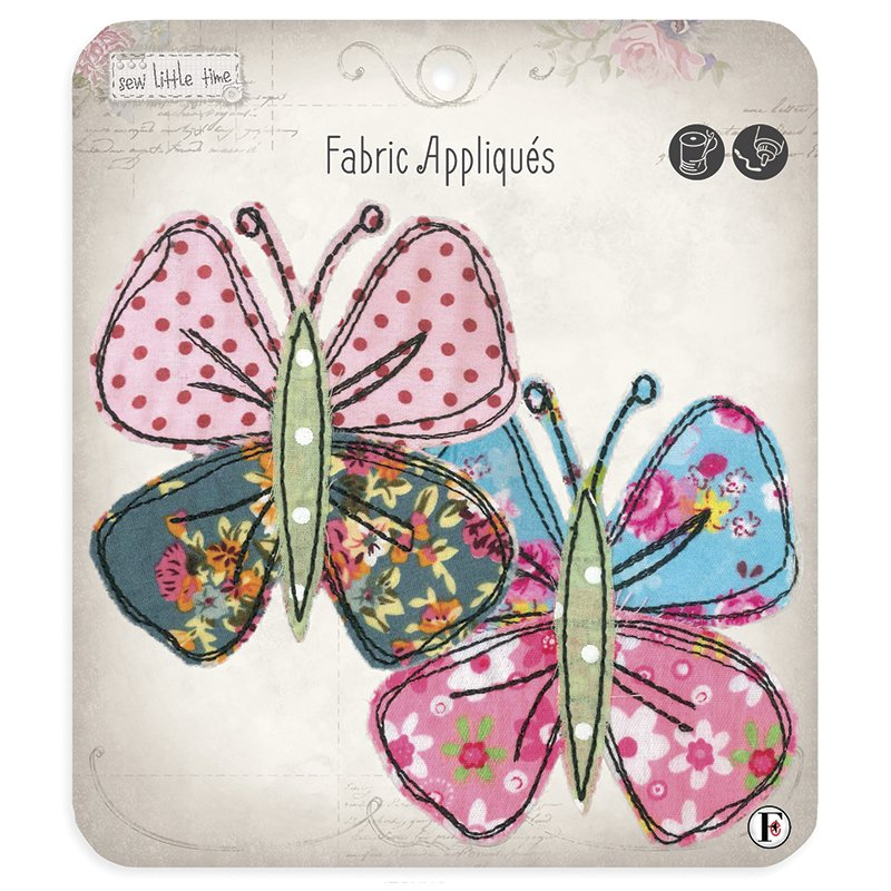 Sew Little Time Applique Butterflies