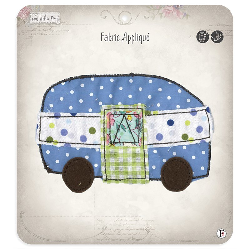 Sew Little Time Applique Camper