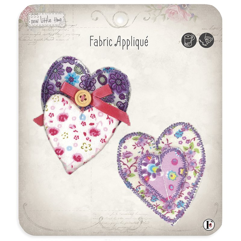 Sew Little Time Applique Hearts