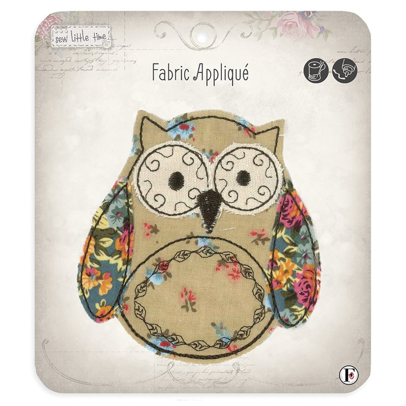 Sew Little Time Applique Owl