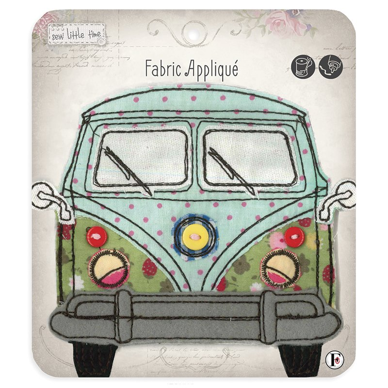 Sew Little Time<br>Van Applique<br>SLT-APLIQ-VAN