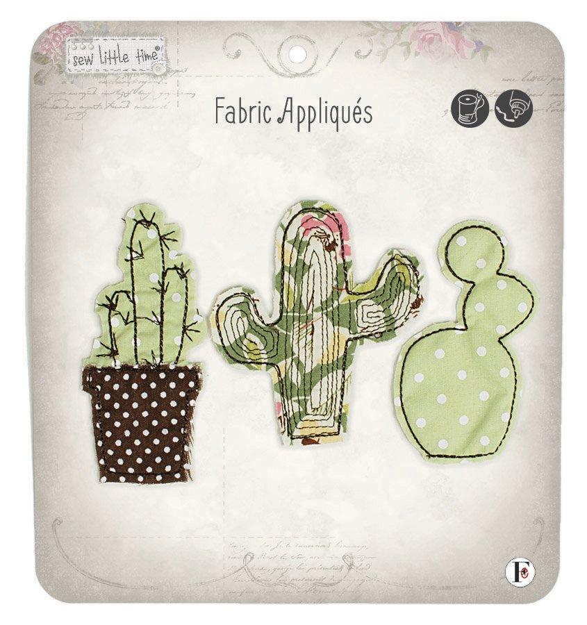 Sew Little Time <br>Cactus Appliques <br>SLT-APPLQ-CACT
