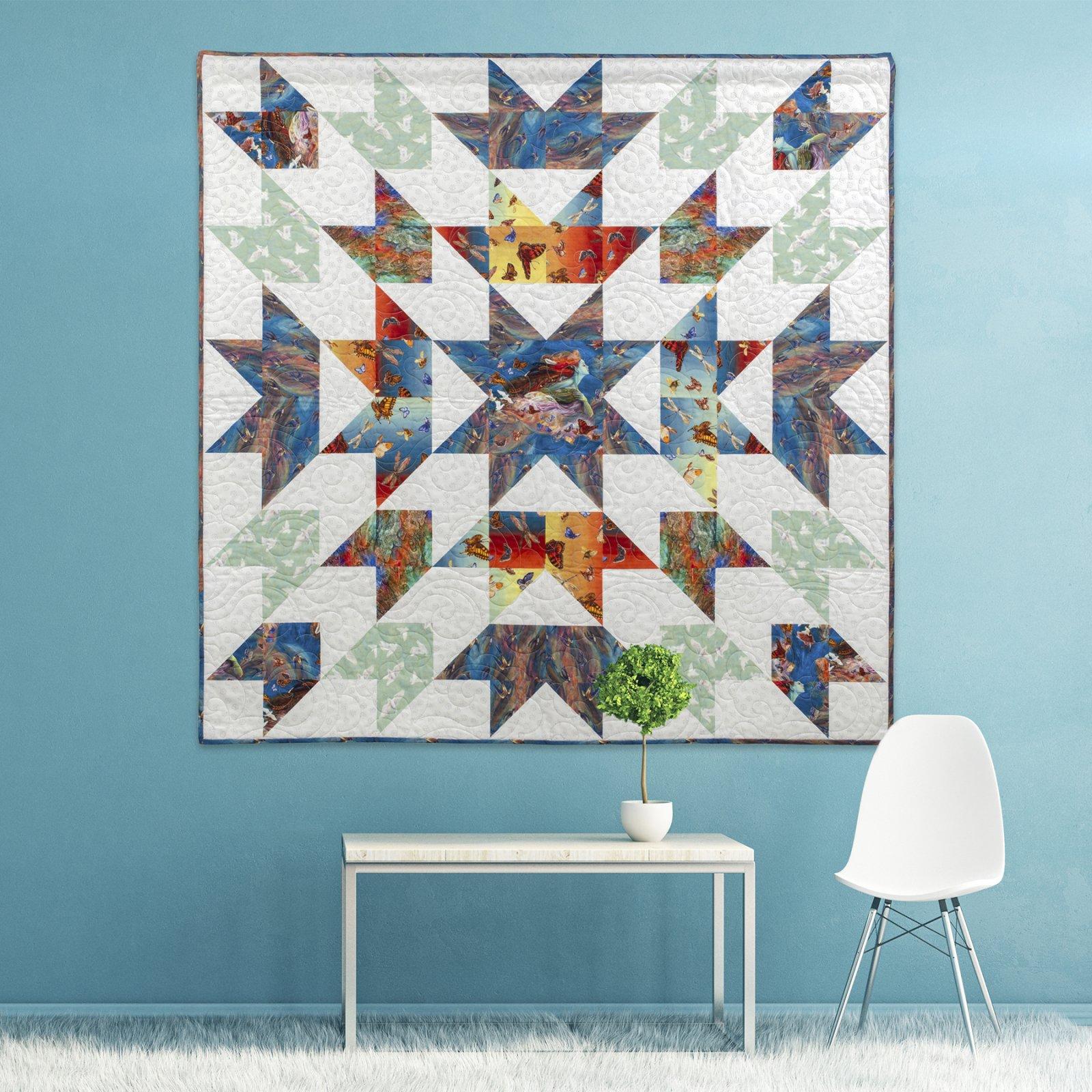 3 Wishes Fabric<br>Radiant Spirit Quilt