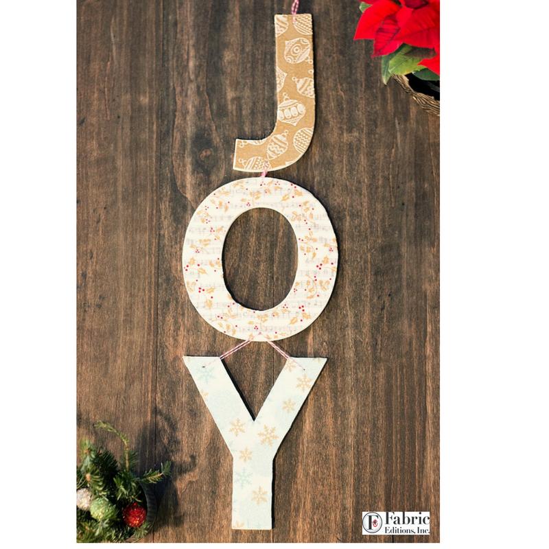 JOY Christmas Decor