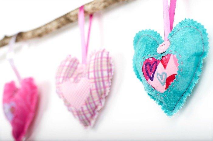Valentine's Day Stuffed Hearts