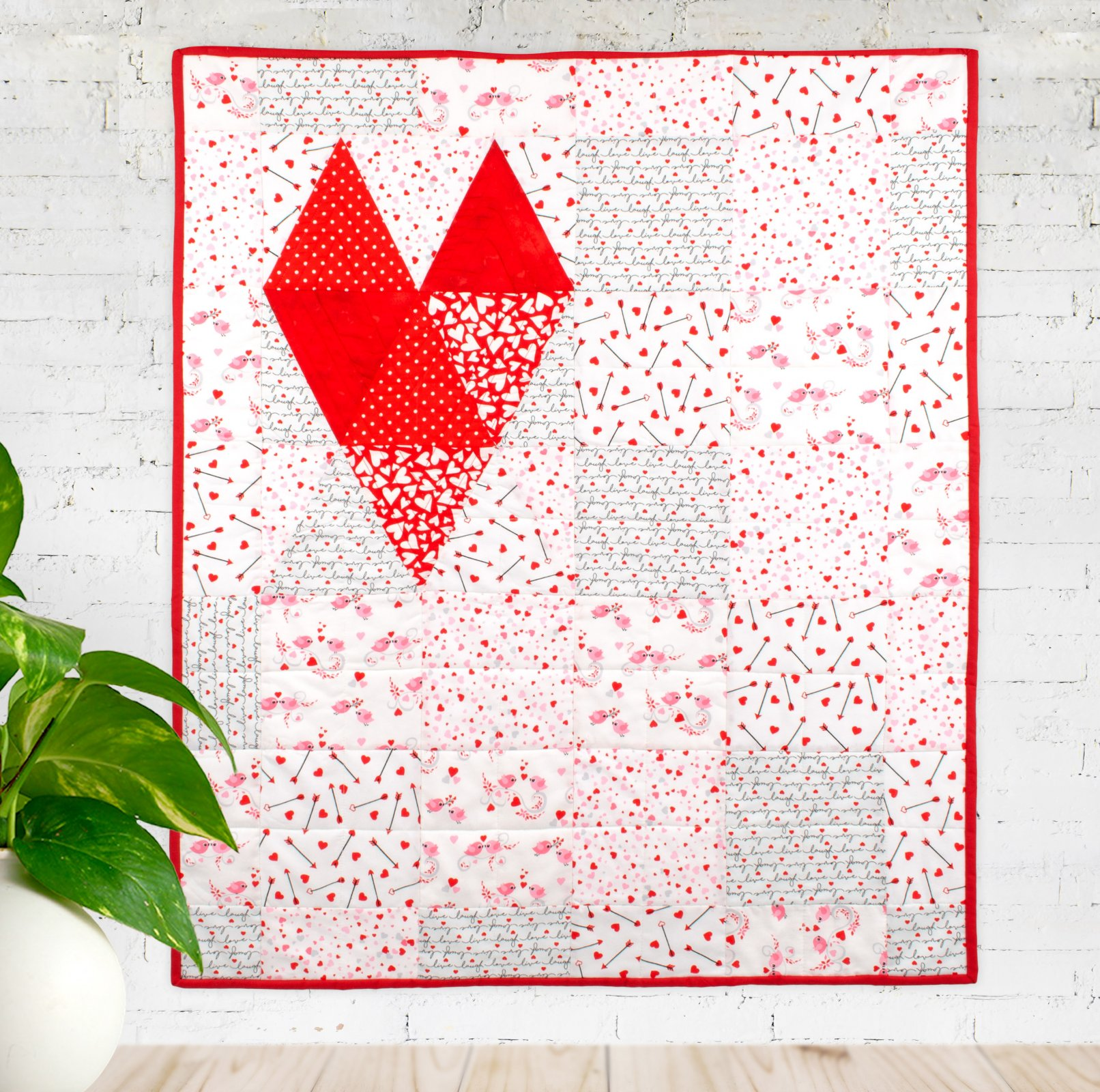 Made With Love Quilt