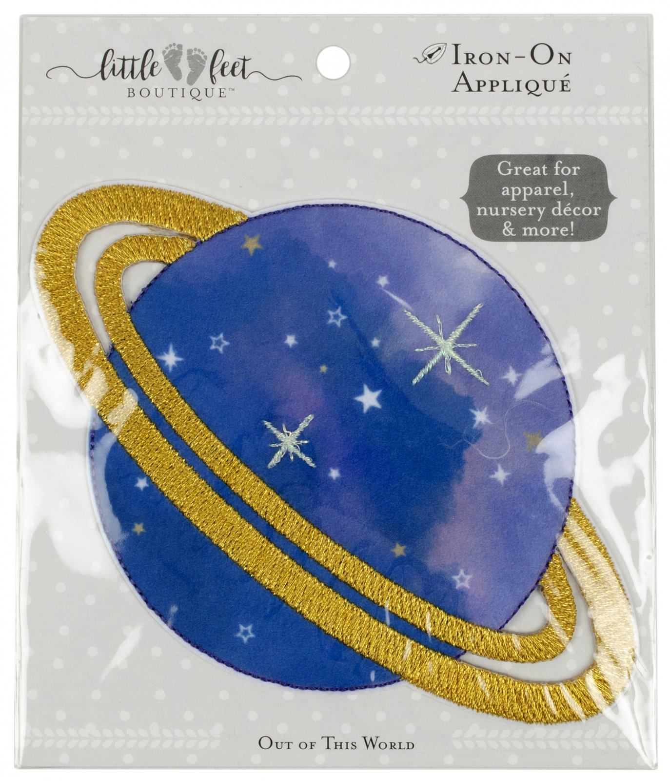 LFB Out of This World<br>Appliqué Planet<br>WM-LFB-PAT-PLNT