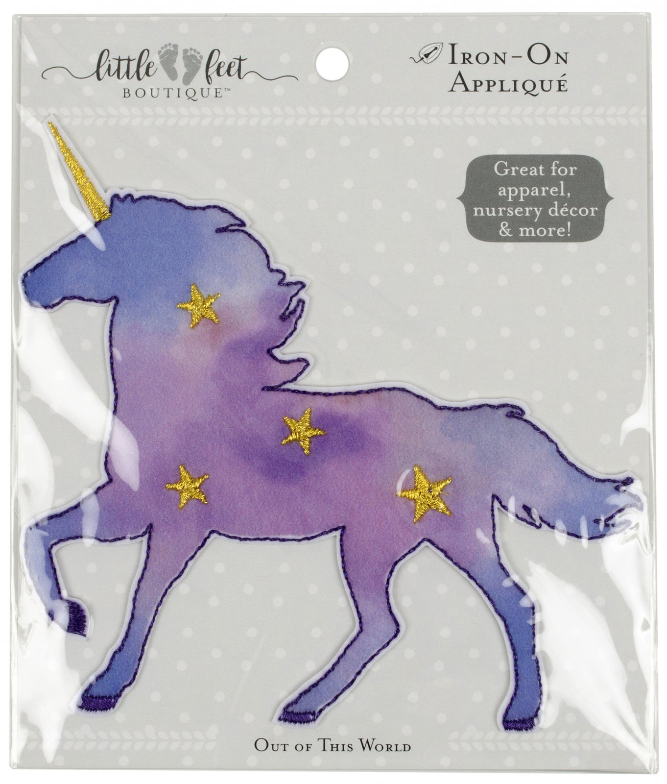 LFB Out of This World<br>Appliqué Unicorn<br>WM-LFB-PAT-UCRN