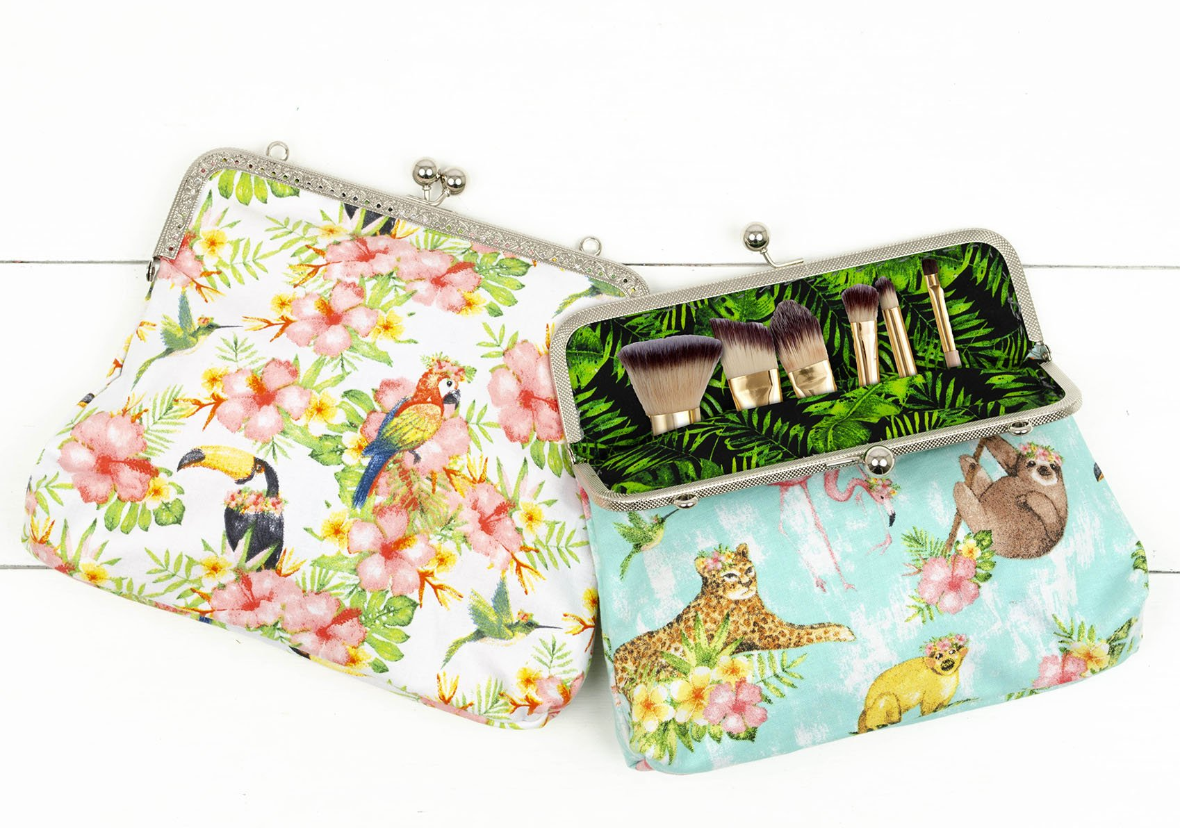 Jungle Snap Purse