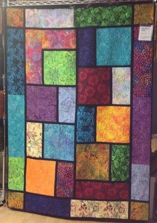 Batik The Big Block Quilt