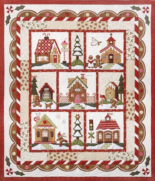 Gingerbread Village  Pattern Set