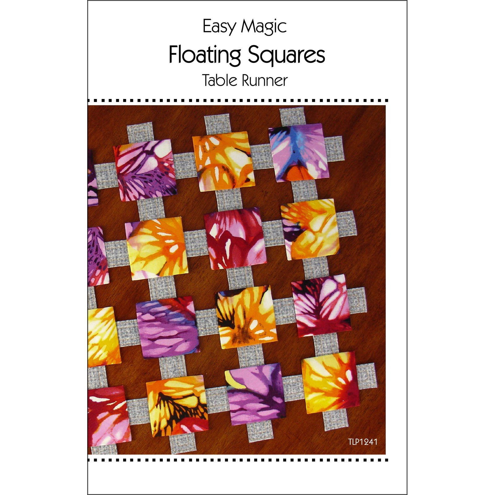 Easy Magic Floating Squares Table Runner