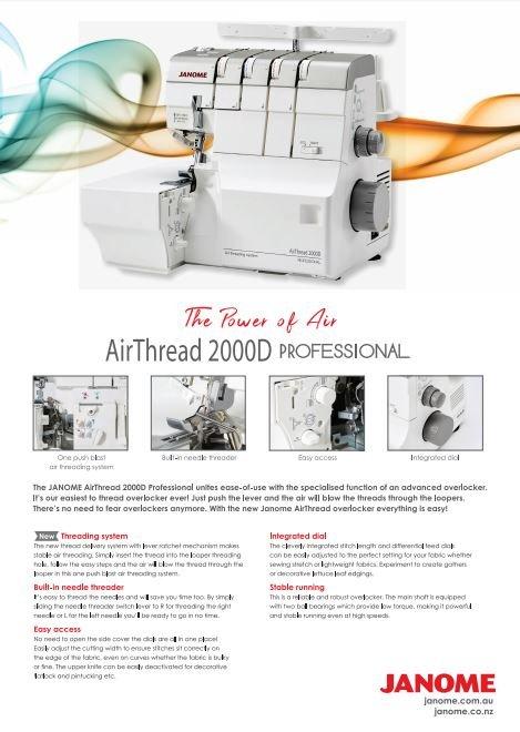 Janome Air Threading AT2000D