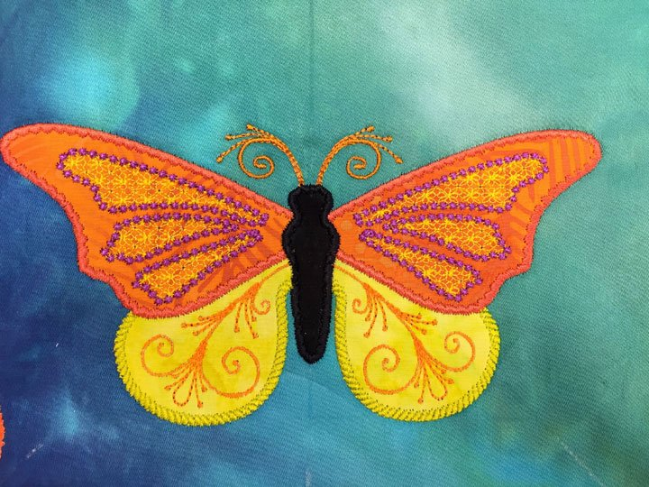Butterfly 1F:  A MEA Digitized Butterfly Design