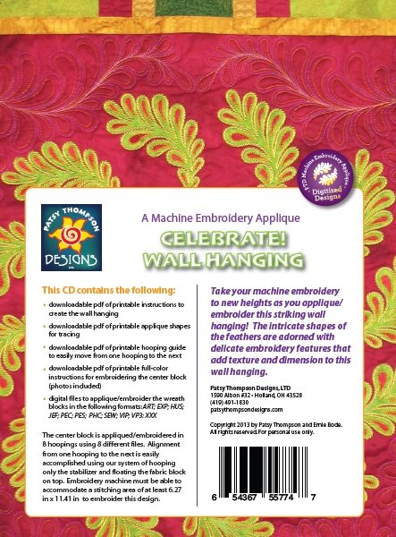 Celebrate! A MEA Wall Hanging ~ Multi-Format CD