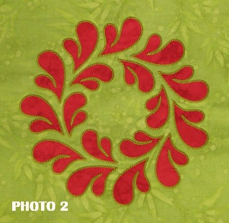 10.5 Feathered Wreath (Stitched as 2 Part Design)