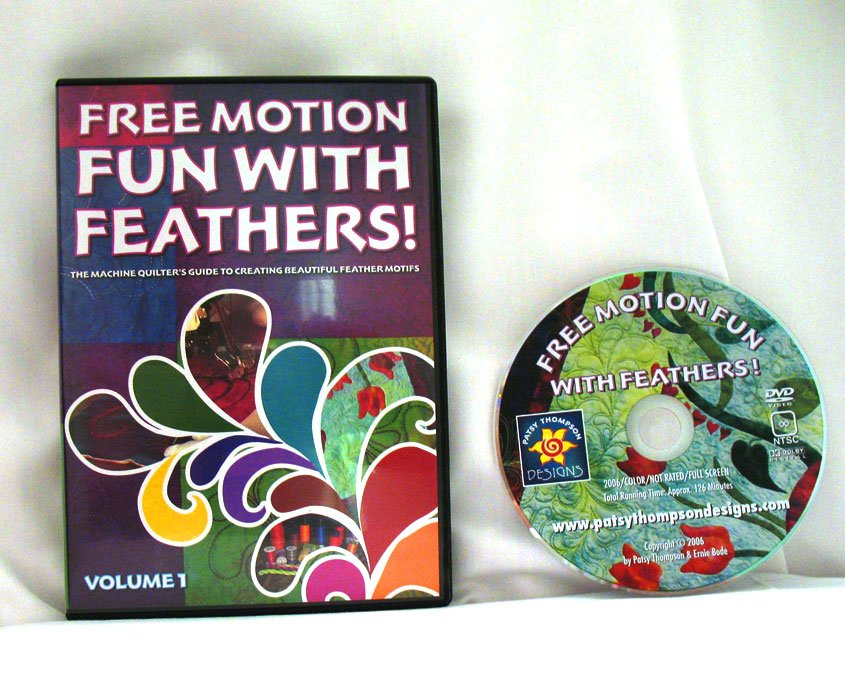 Free Motion Fun...With Feathers! Volume 1