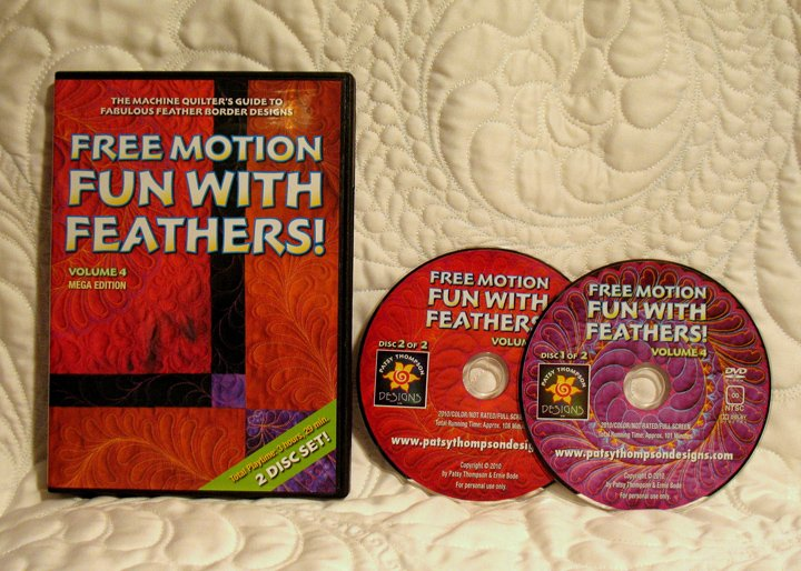 Free Motion Fun...with Feathers! Volume 4