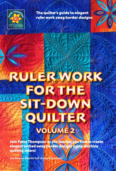 Ruler Work for the Sit-Down Quilter DVD Vol 2
