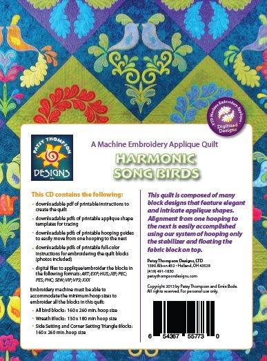 Harmonic Song Birds ~ Multi-Format CD