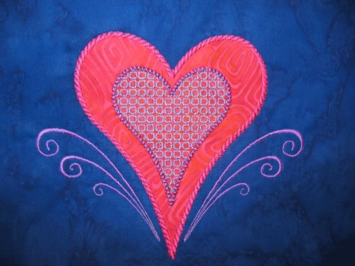 Large Heart 1A Design: An MEA Digitized Design