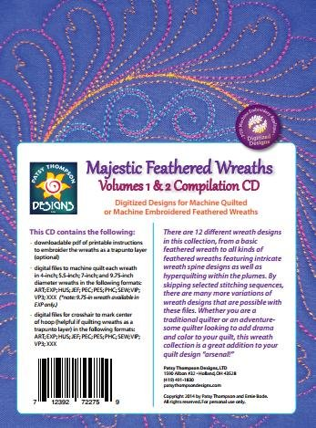 Majestic Feathered Wreath Volume 1 & 2 ~ Multi-Format CD