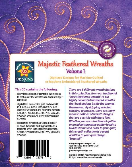 Majestic Feathered Wreath Volume 1 ~ Multi-Format CD