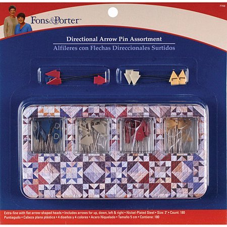 Directional Arrow Pin Assortment by Fons & Porter