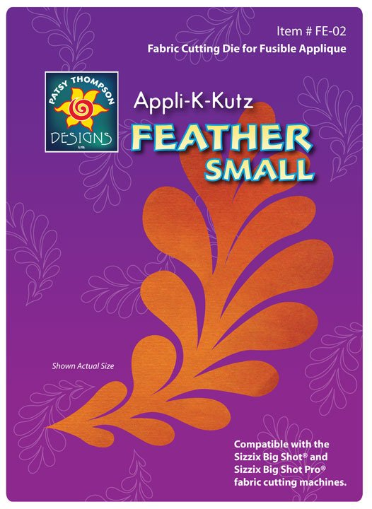 Appli-K-Kutz Feather Small