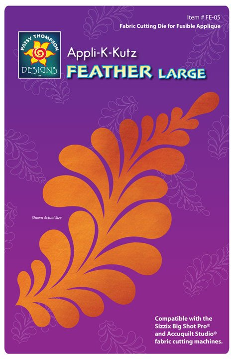 Appli-K-Kutz Feather Large