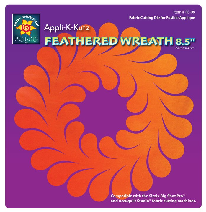 Appli-K-Kutz Feathered Wreath