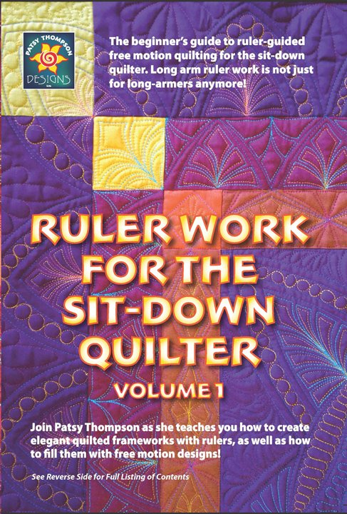 Ruler Work for the Sit-Down Quilter DVD Vol. 1