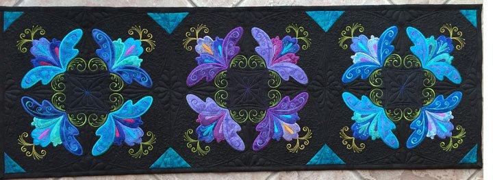 The Swirly Floral Quartet Table Runner Multi-Format CD