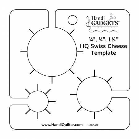 HQ Swiss Cheese Templates by HandiQuilter