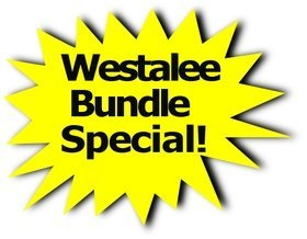 SPECIAL: Westalee Ruler Foot Kit 1 PLUS Sampler Template Set