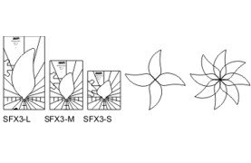 Westalee Spin-e-fex Template #3 High Shank