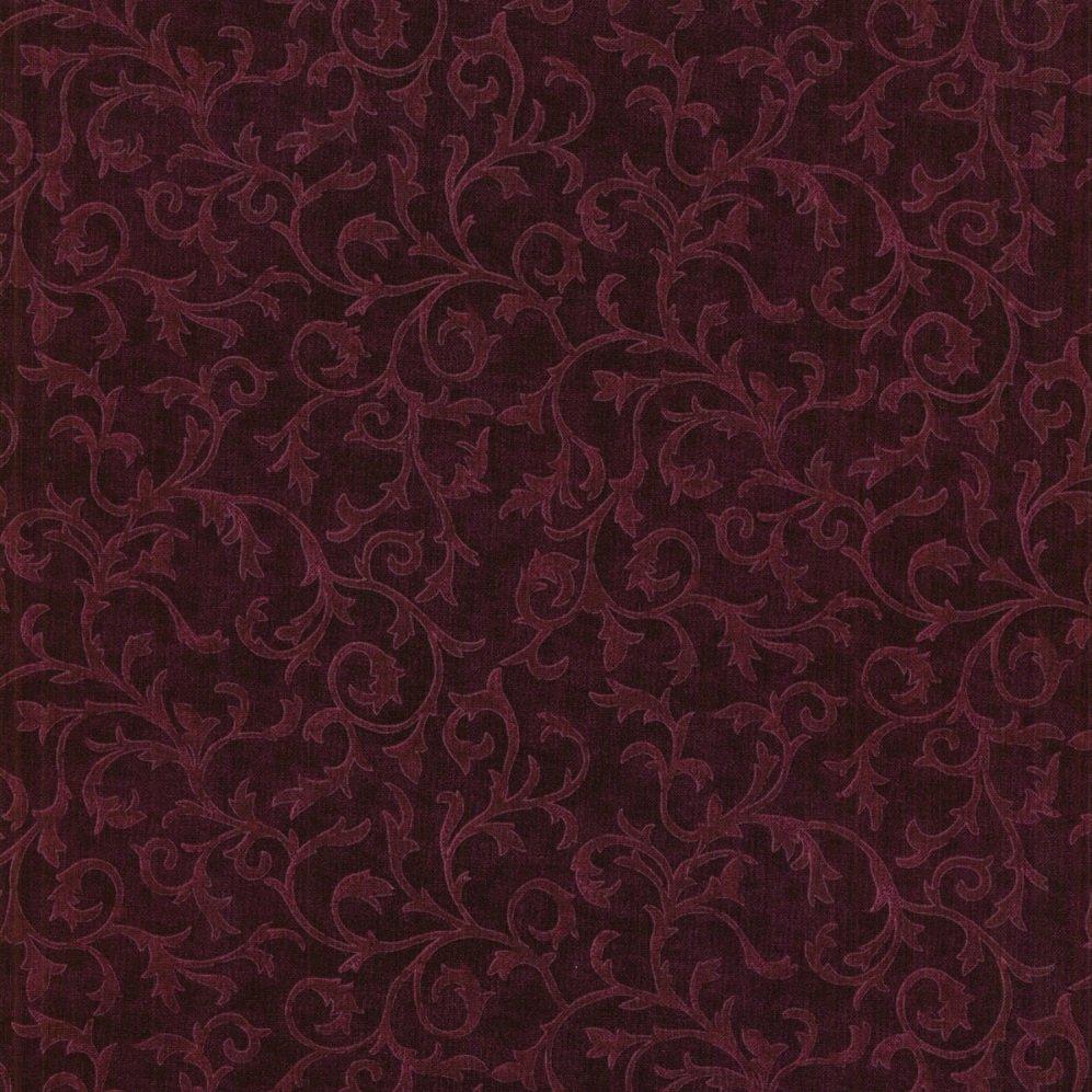 0691J-007 Scrolls wine