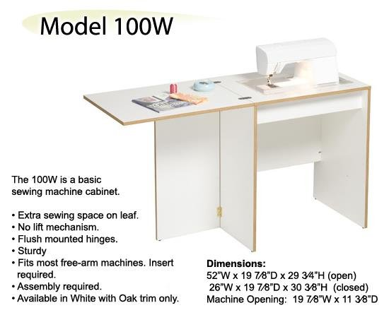 Sylvia 100W Sewing Desk