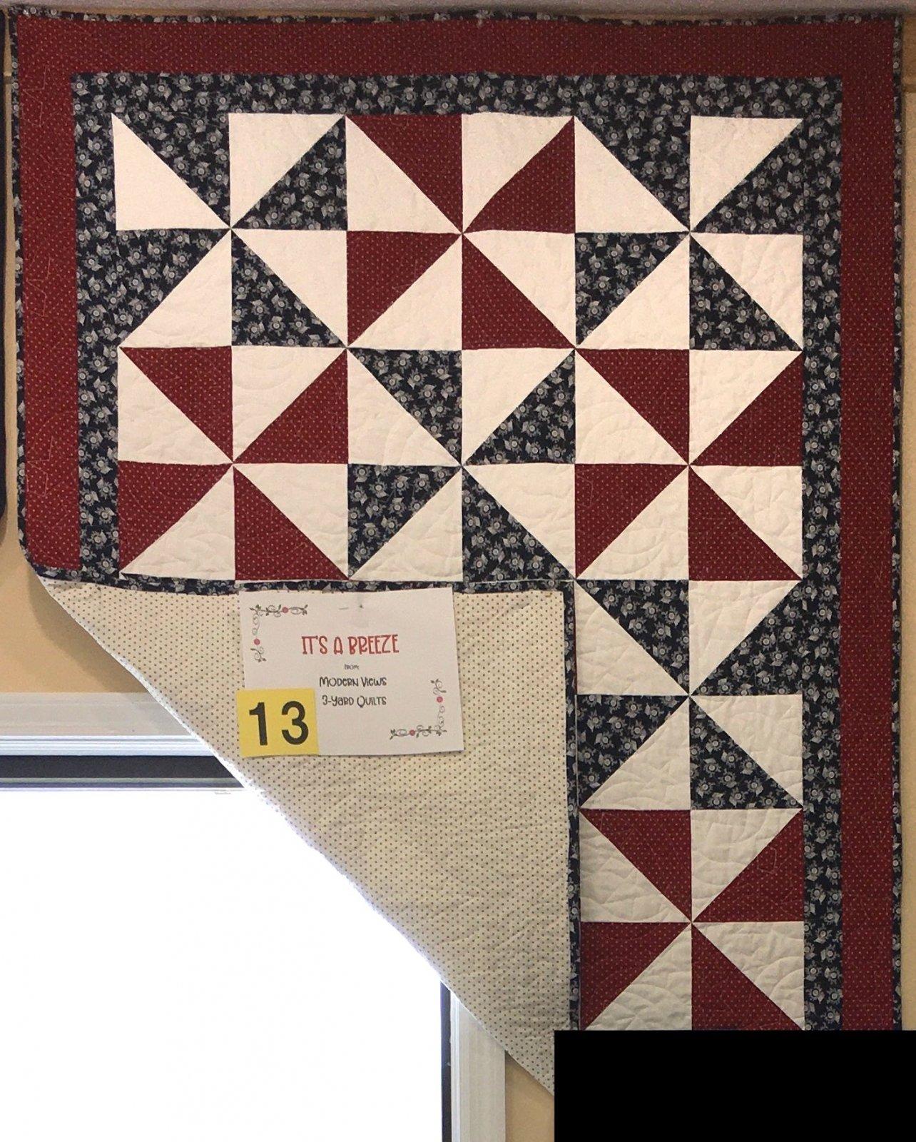 It's A Breeze Fabric Kit #13