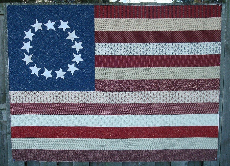 13 Original Colonies Quilt Pattern - RRQ Original