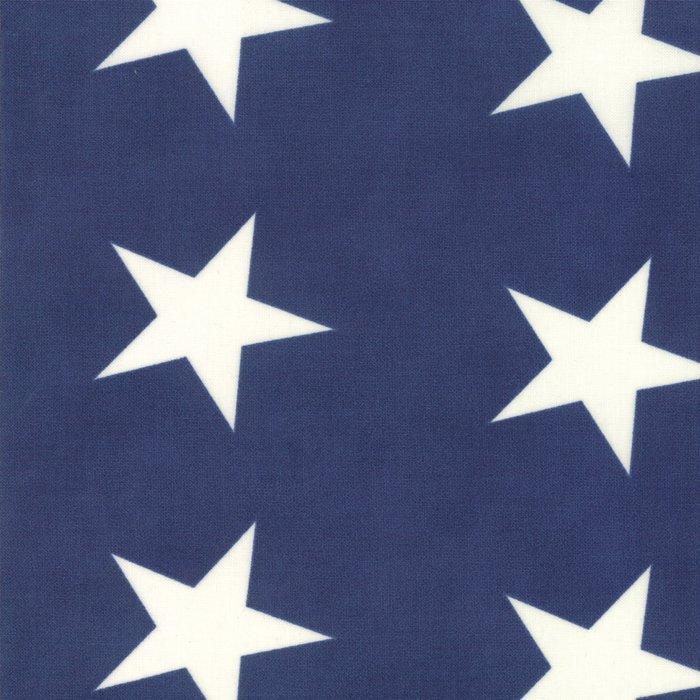 14889-15 Bunting Stars navy