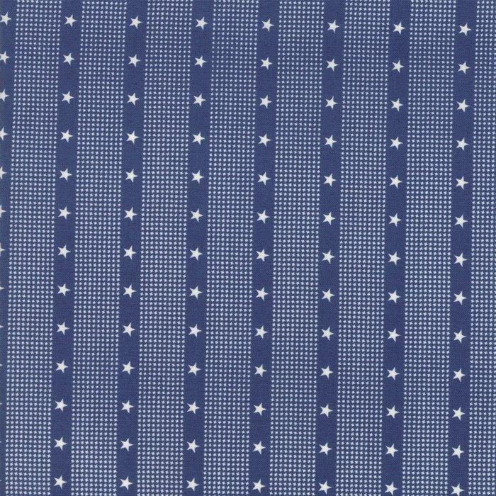 14898-15 Striped Stars navy