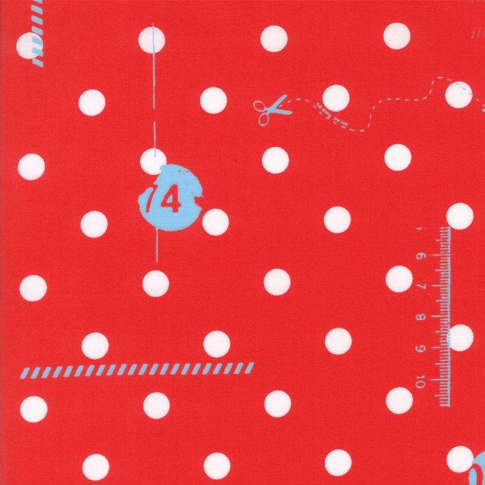 1600-14 My Polka Dots red