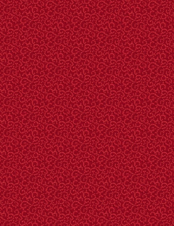 1803-98661-333 Crescent Swirls red