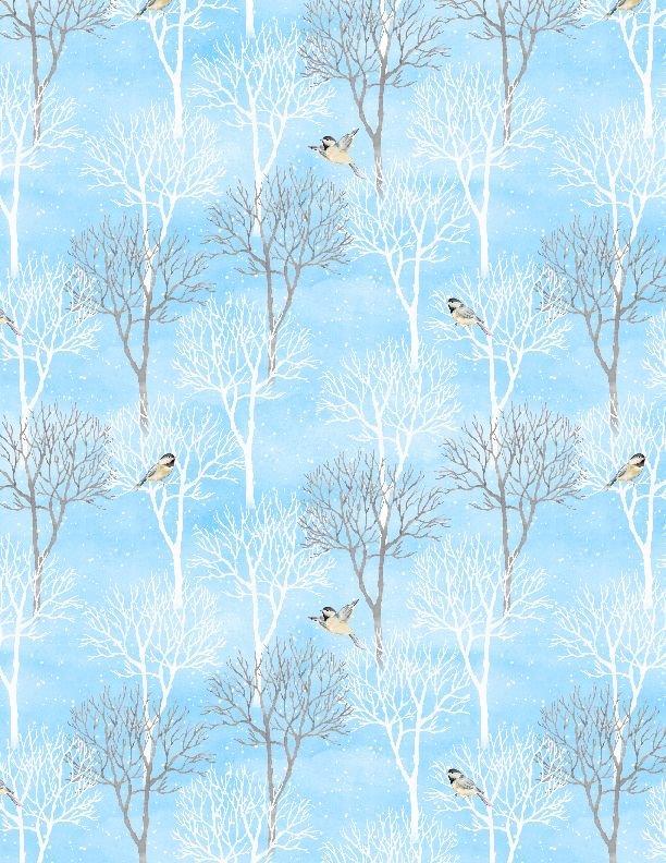 1810-42456-412 Trees medium blue