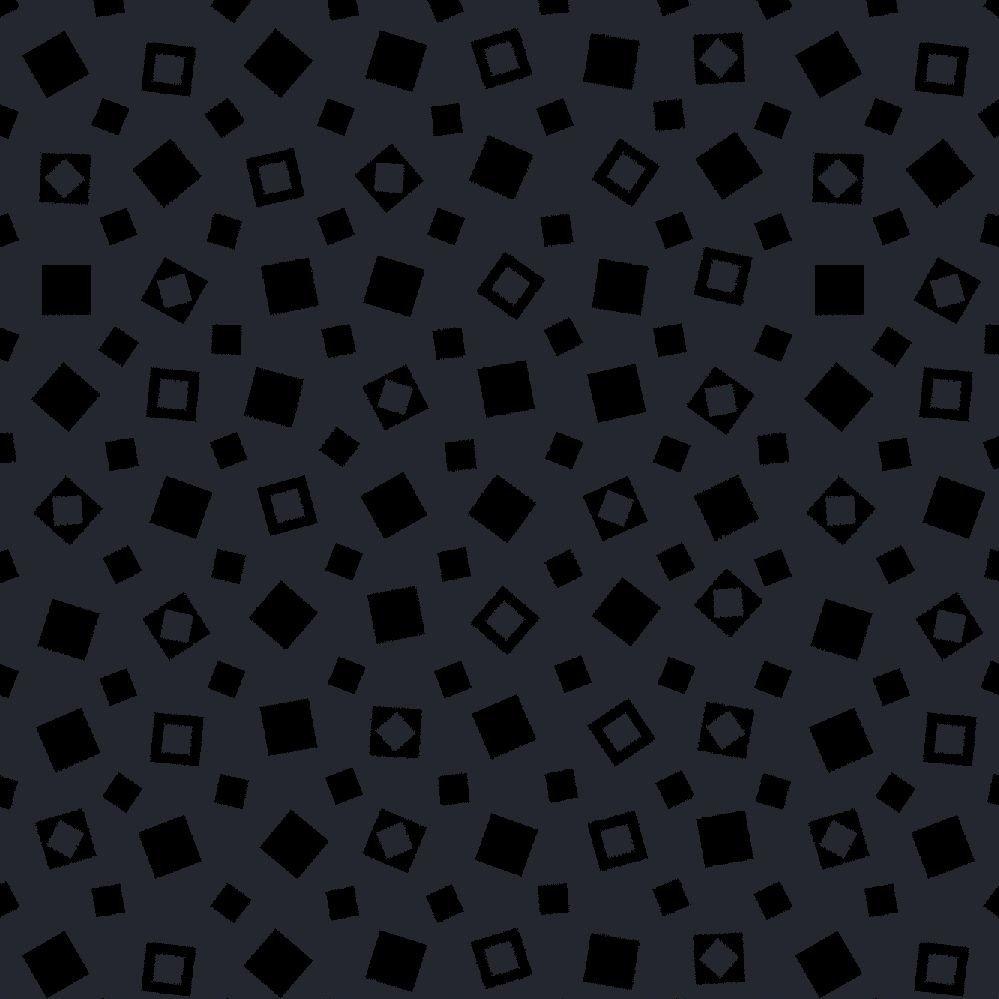 1817-39120-999 Squares tonal black